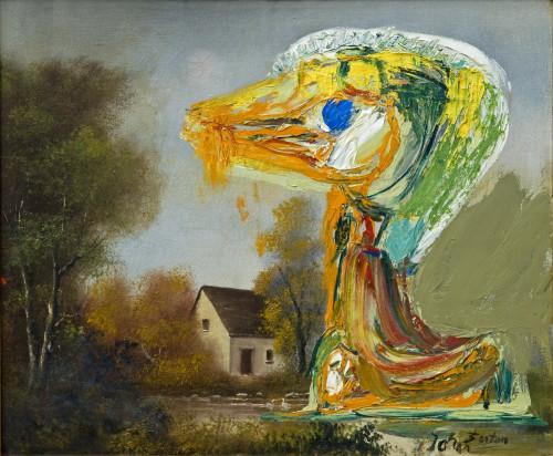Olie på lærred. (Oiel on canvas) 53 x 64,5 cm